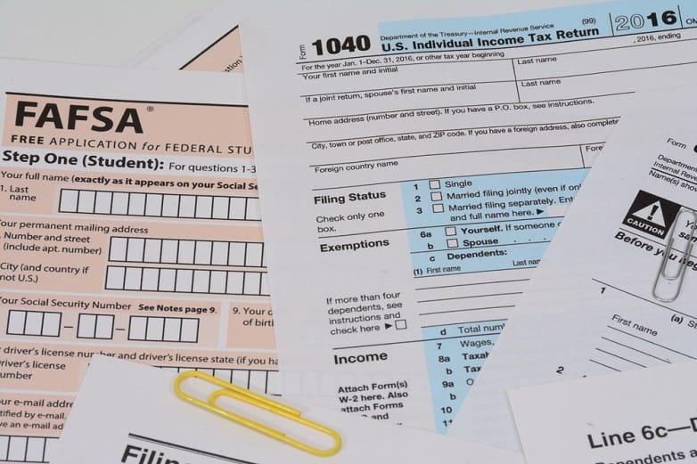 Fill the FAFSA form